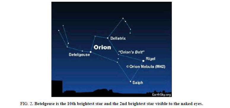 Physics-Astronomy-Betelgeuse