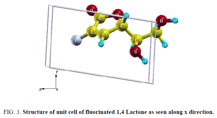 chemical-technology-Lactone-along-x-direction