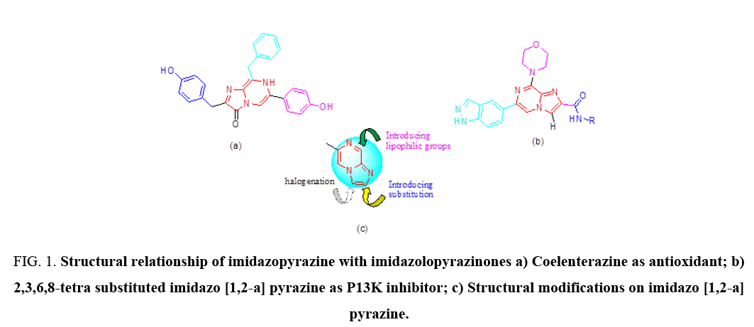 international-journal-chemical-sciences-relationship-imidazopyrazine