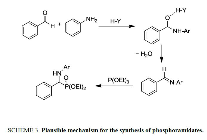 international-journal-chemical-sciences-synthesis-phosphoramidates