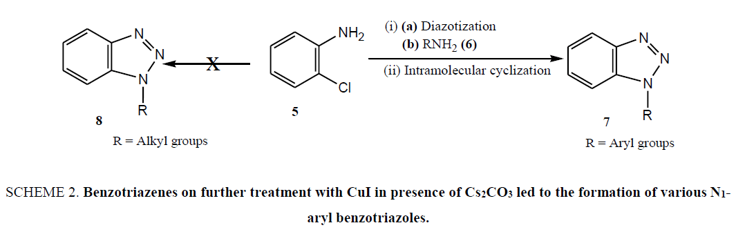 organic-chemistry-Benzotriazenes-furthe-treatment-CuI