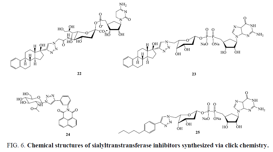 organic-chemistry-Chemical-structures-sialyltranstransferase