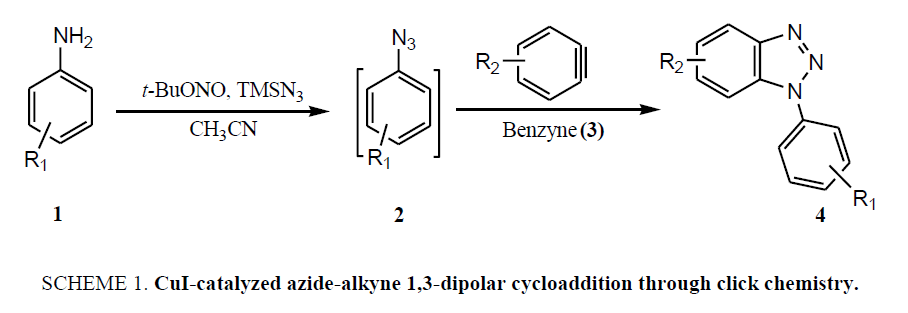 organic-chemistry-CuI-catalyzed-azide-alkyne