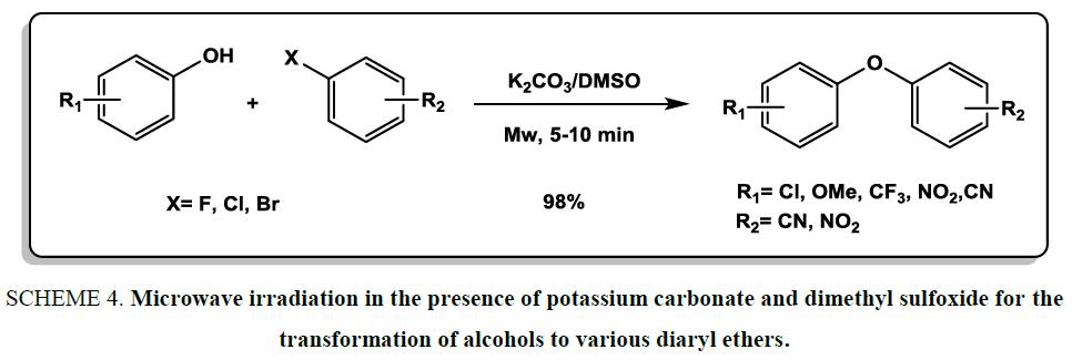 organic-chemistry-Microwave-irradiation-potassium