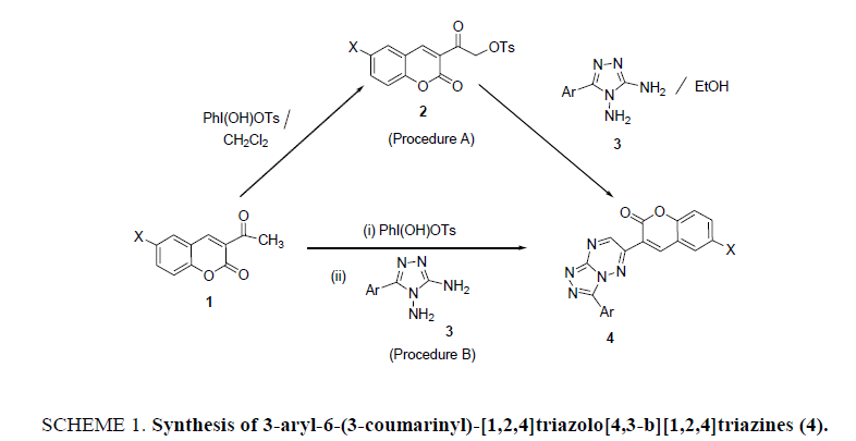 organic-chemistry-Synthesis-coumarinyl-triazolo
