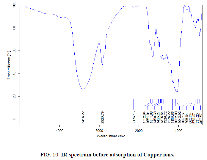 physical-chemistry-IR-spectrum-before-adsorption