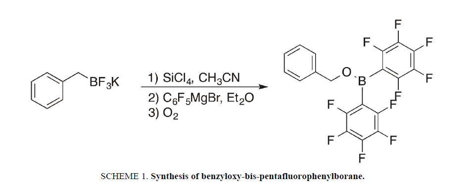 physical-chemistry-pentafluorophenylborane