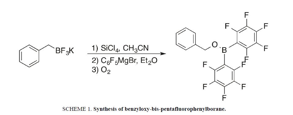 physical-chemistry-pentafluorophenylborane